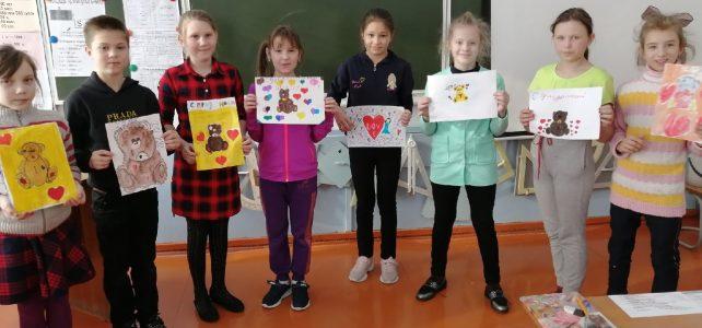 Мастер-класс «Я рисую валентинку»